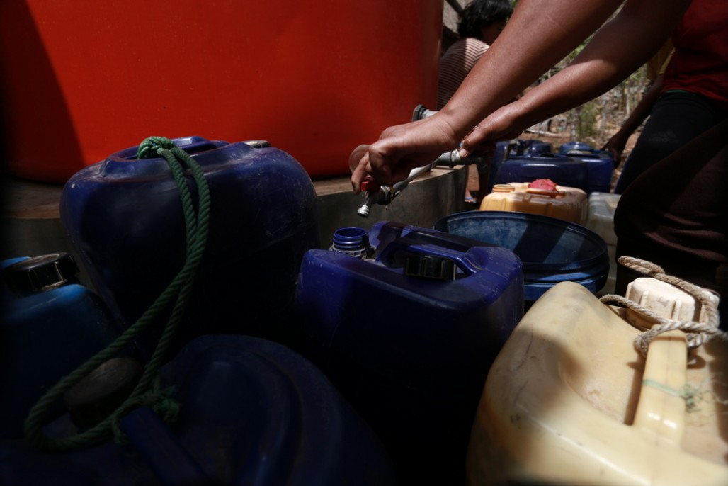 Gunungkidul Residents Rely on Water Distribution' photo