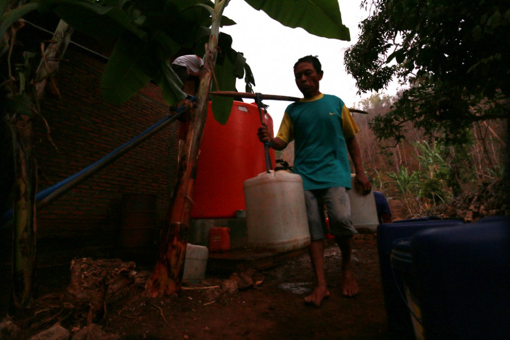 Rongkop Residents Suffer from Water Crisis Since March' photo