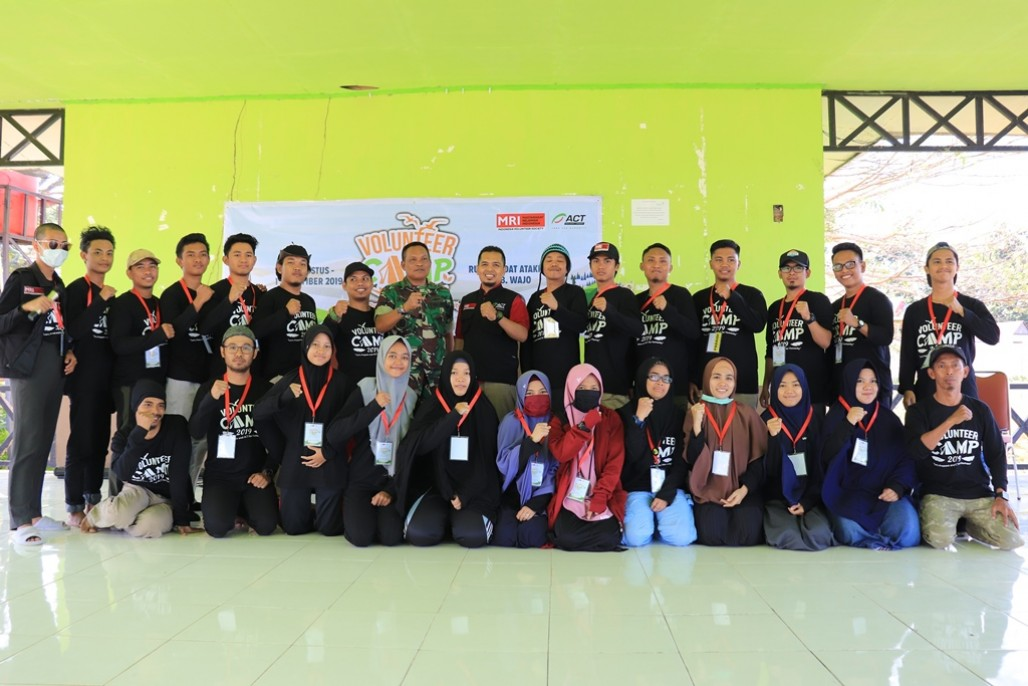 Tumbuhkan Semangat Kemanusiaan Lewat Volunteer Camp' photo