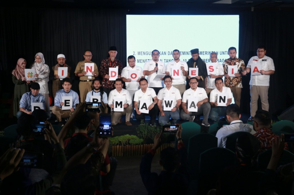 Bangun Bangsa Bersama Gerakan Nasional #IndonesiaDermawan' photo