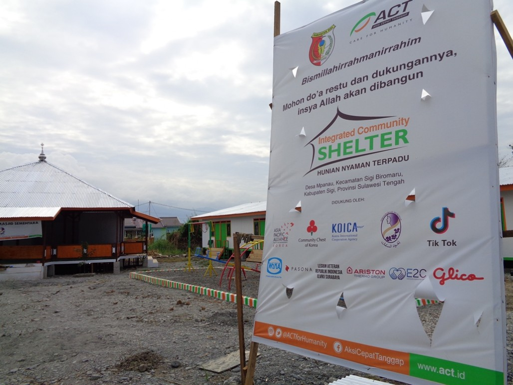 Humanitarian Collaboration Between A-PAD and ACT for Central Sulawesi Disaster Survivors's image