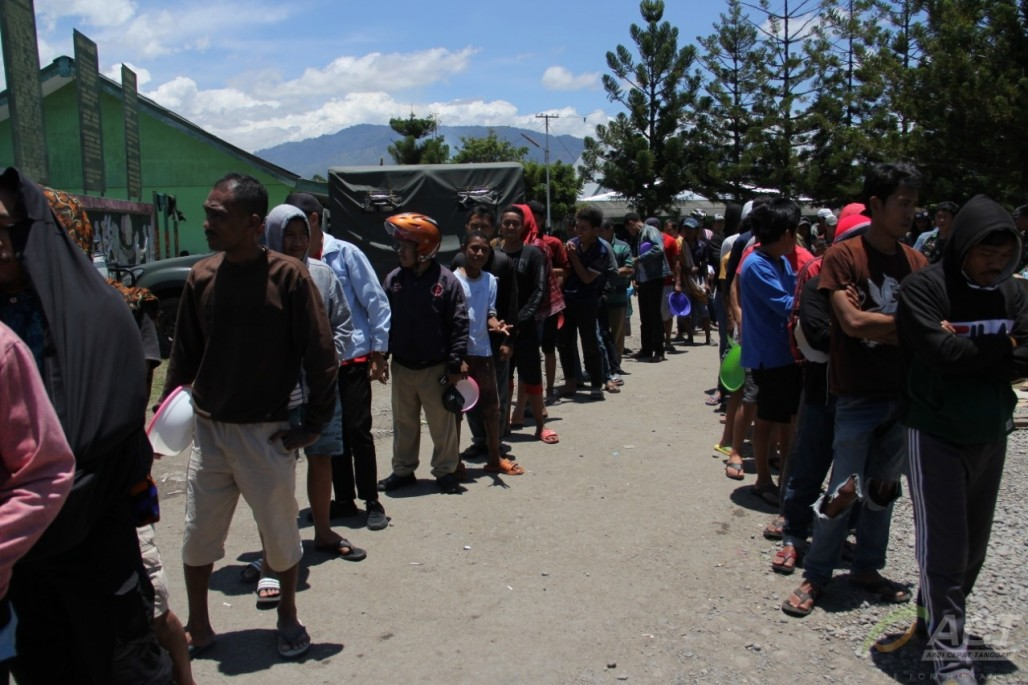 ACT Helps Evacuees in Wamena to Return' photo