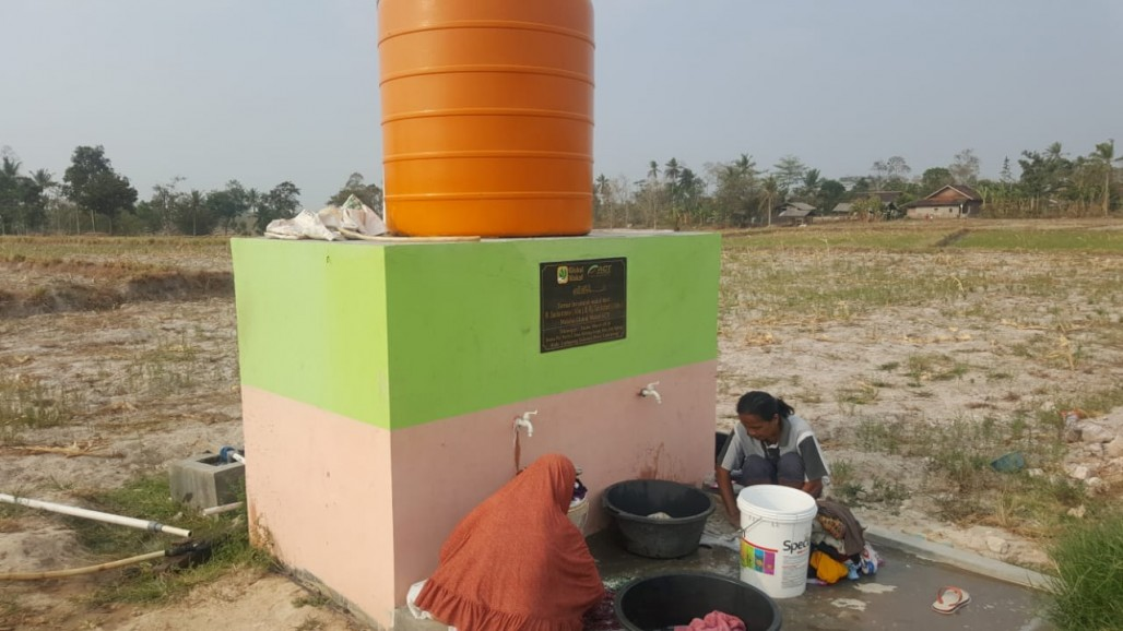 Waqf Well as an Alternative Water Source During Long Drought' photo