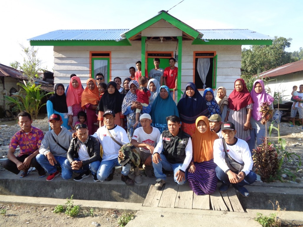 New Shelters for Earthquake Survivors in South Halmahera' photo