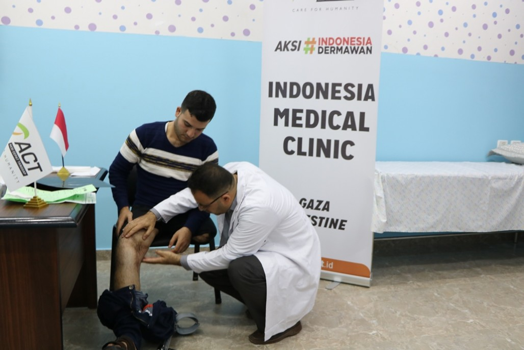 Indonesian Medical Clinic for Gaza Starts Operating' photo