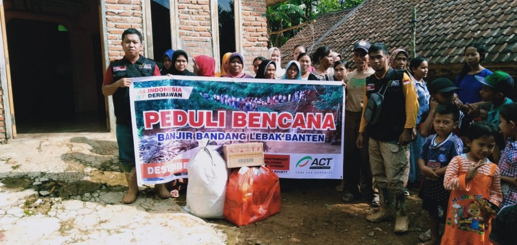 Isolated Hamlets in Lebak Receive Emergency Aid' photo