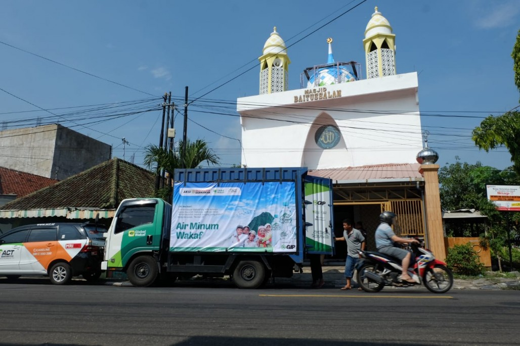 Madiun Residents Can Now Enjoy Waqf Drinking Water' photo