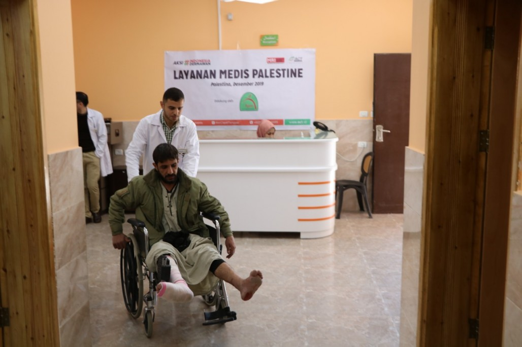 Indonesian Medical Clinic in Gaza Continues to Treat Patients' photo