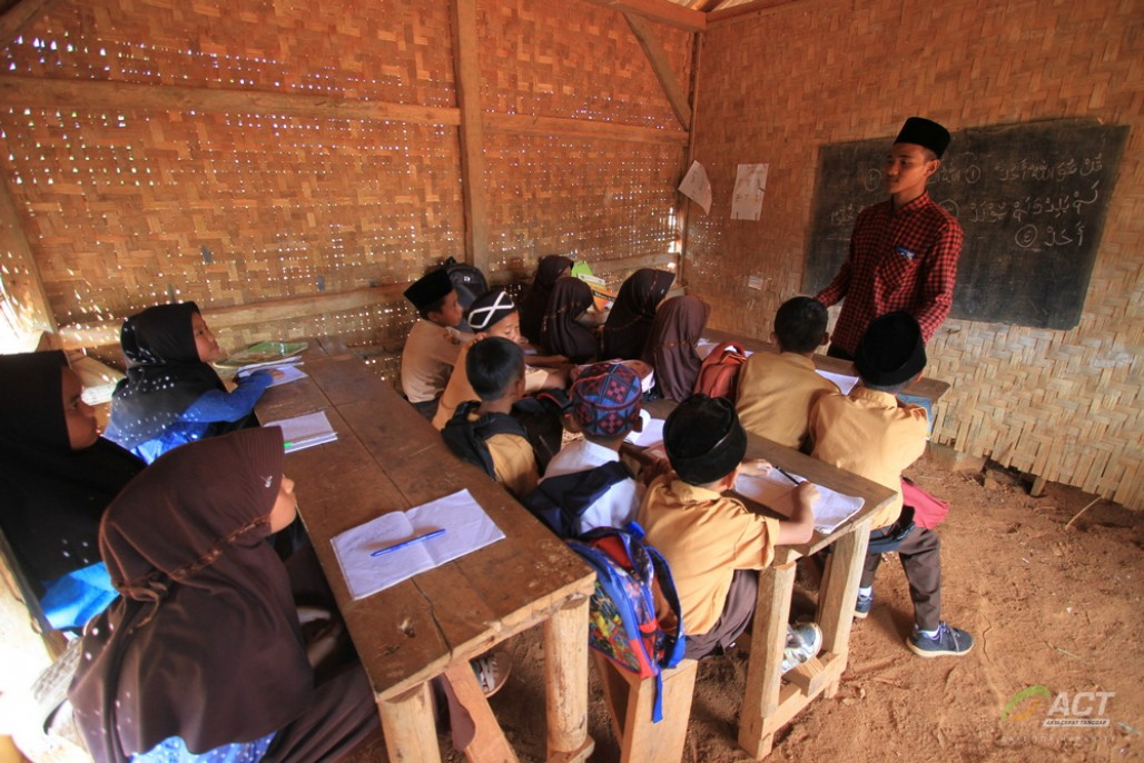 A Young Man's Dedication to Improving Education in His Village