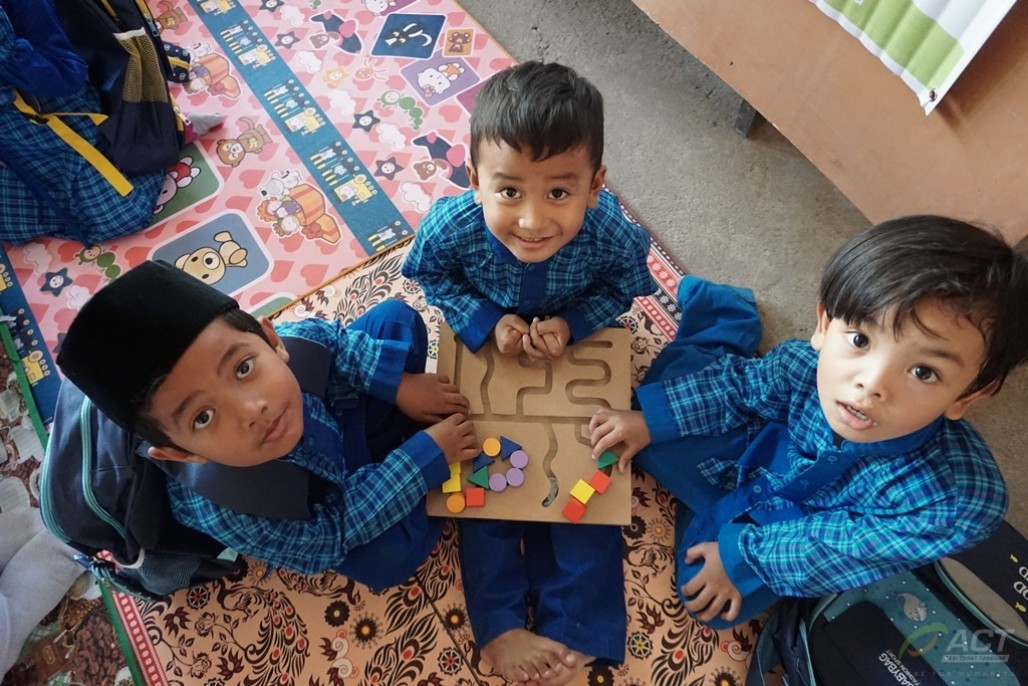 Visiting Earthquake-Hit Pre-School in Lombok's image