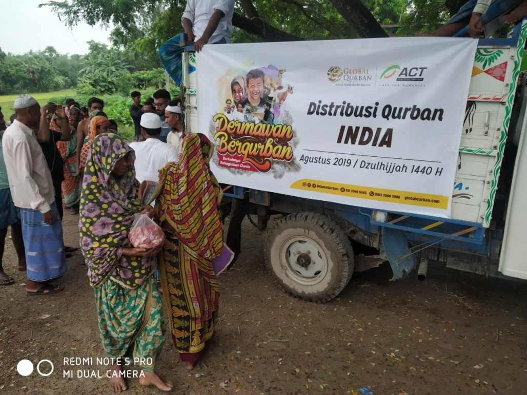 Delivering Qurbani Meat to Indian Food Insecure Region' photo
