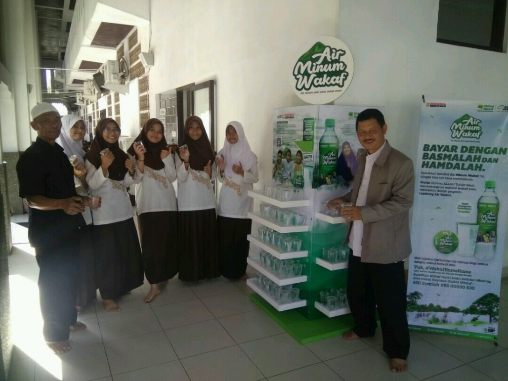 Waqf Drinking Water Present at Grand Mosque of Tasikmalaya