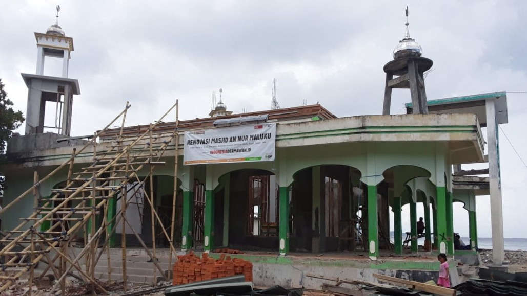 Renovation of Earthquake-Hit Mosque in Maluku Begins