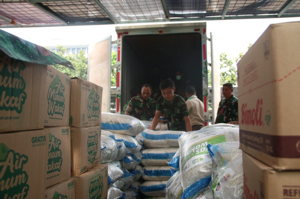 Collaboration Between ACT and Indonesian Armed Force in Handling COVID-19 Pandemic