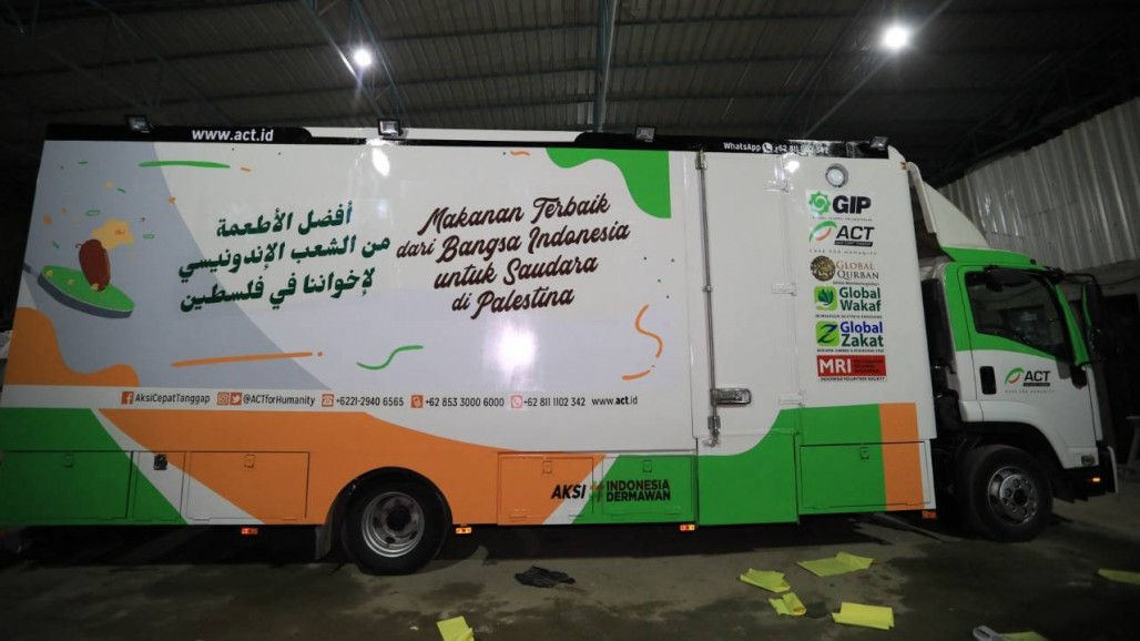 Humanity Food Truck Ready to Assist Healthcare Workers in Gaza
