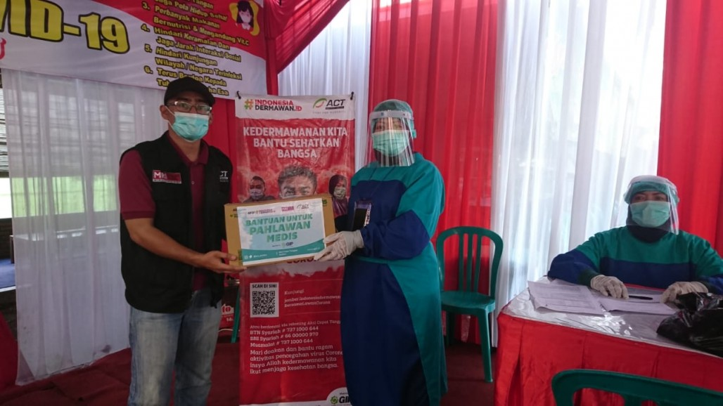 PPE Assistance to Support Medical Workers in Jember's image