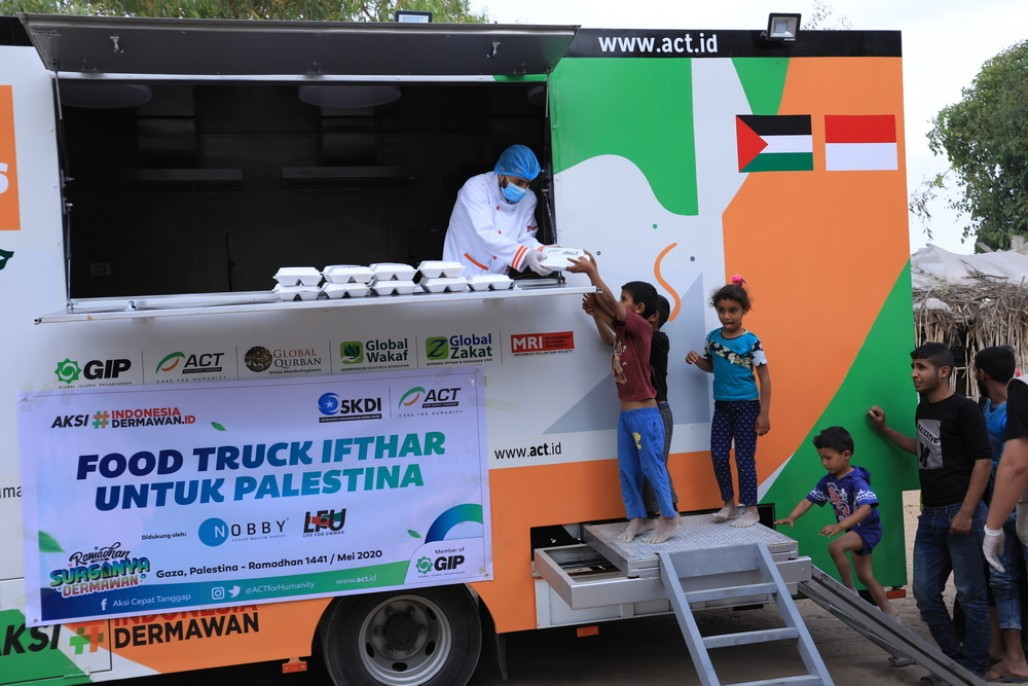 Humanity Food Truck Support Iftar for Gaza' photo