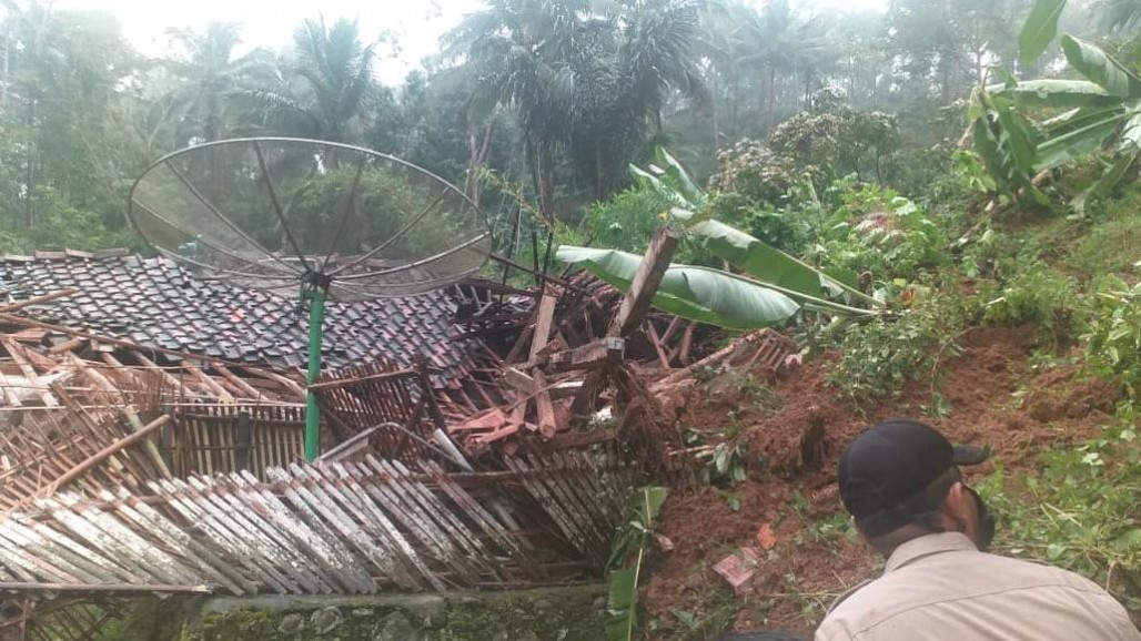 Flooding and Landslide Hit Tasikmalaya