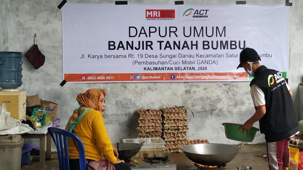 ACT's Public Kitchen in Tanah Bumbu Make 900 Meal Packages Daily's image
