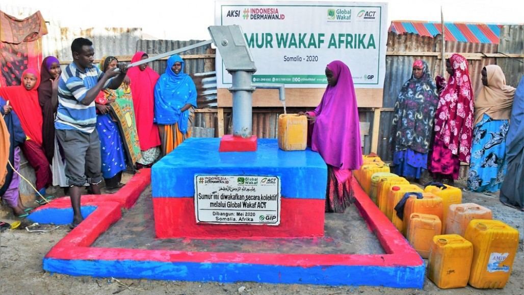Waqf Well Alleviates Drought in Somalia' photo