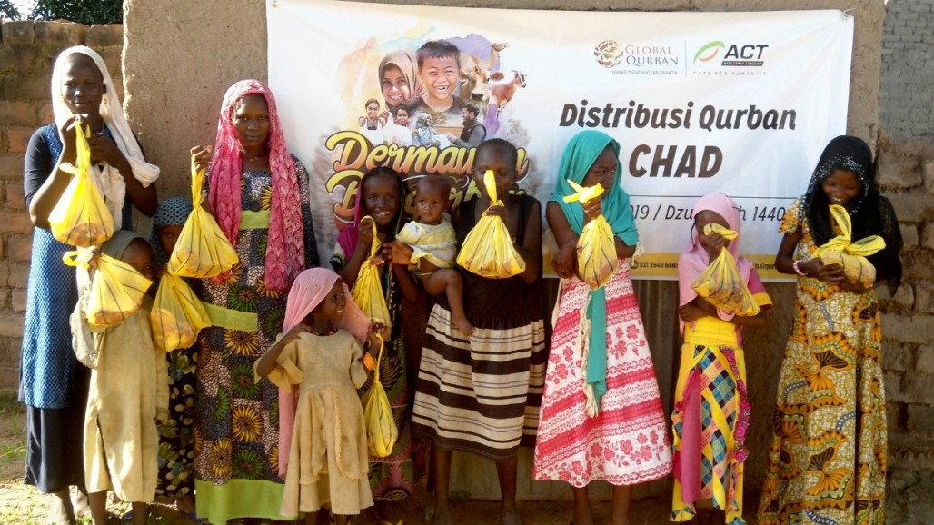 Chadian Happy for Qurbani Meat Amid Food Insecurity' photo