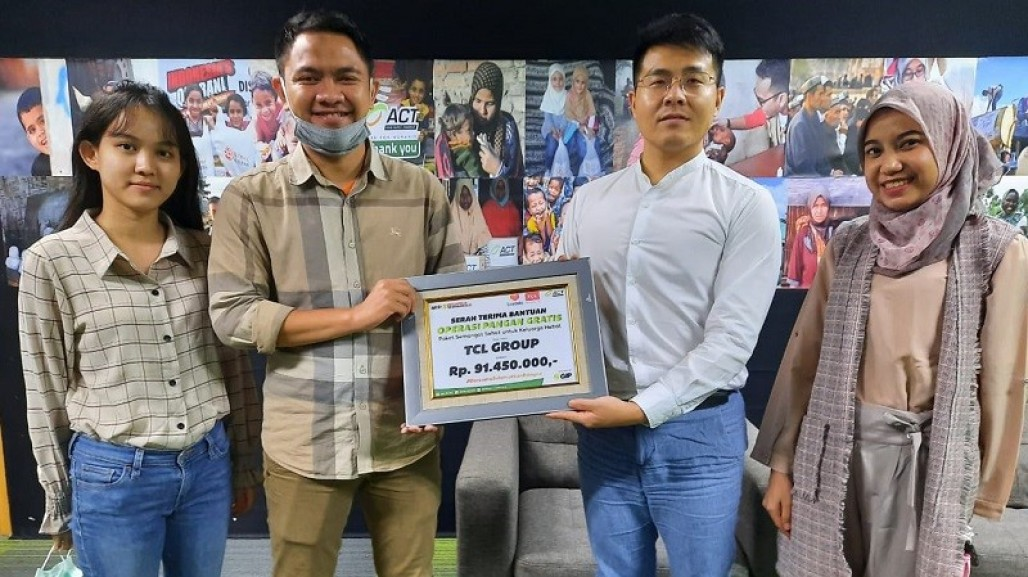 TCL Indonesia and ACT Share Kindness Amid Pandemic' photo