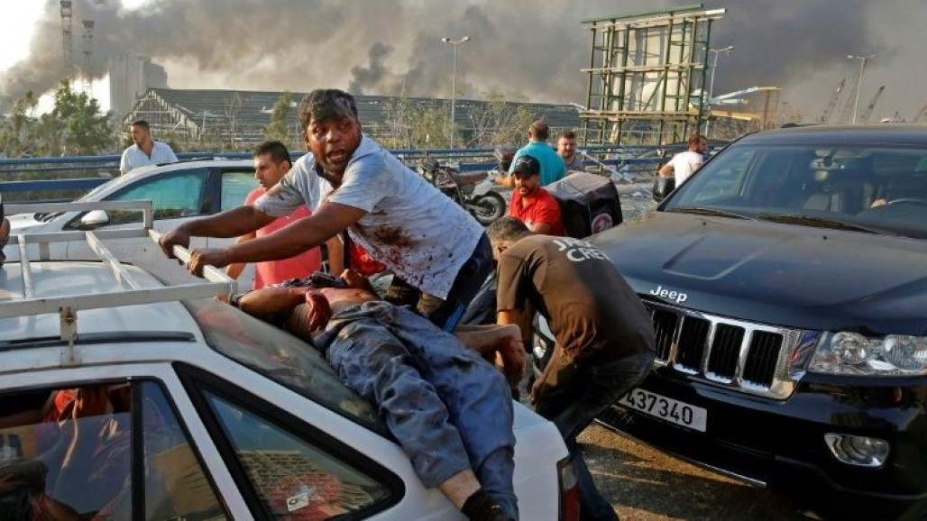 Death Toll of Beirut Blast Reaches 100' photo
