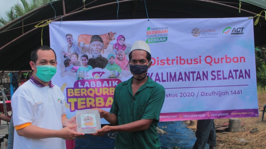 Kuin Kacil Villagers Happy for Qurbani Meat After Five Years