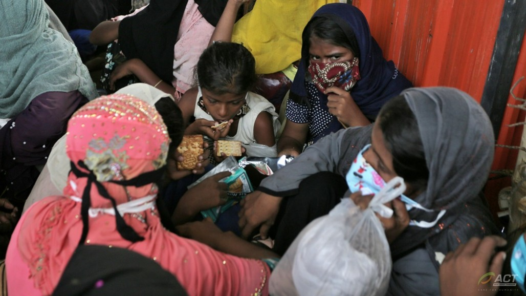 Another Group of Rohingya Refugees Stranded in Lhokseumawe