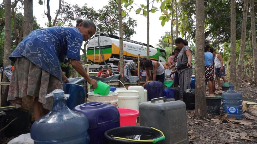 Clean Water for Wonosegoro Villagers Affected by Drought