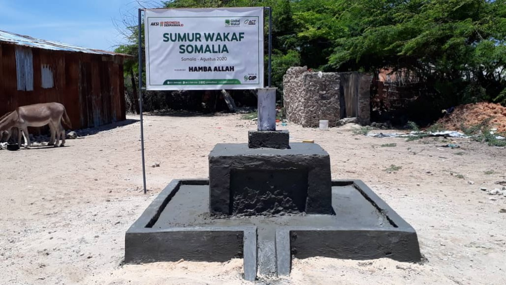 Waqf Well Brings Immense Blessing for Marka Residents