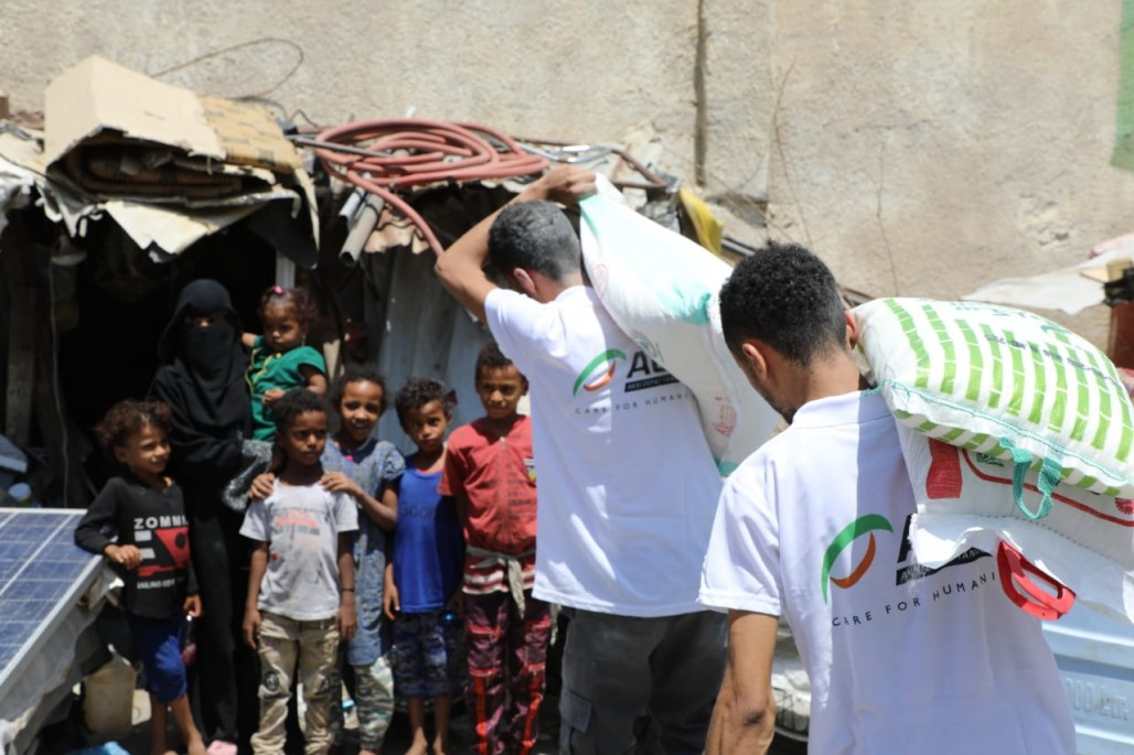 Supporting Yemen with Food Aid and Health Assistance