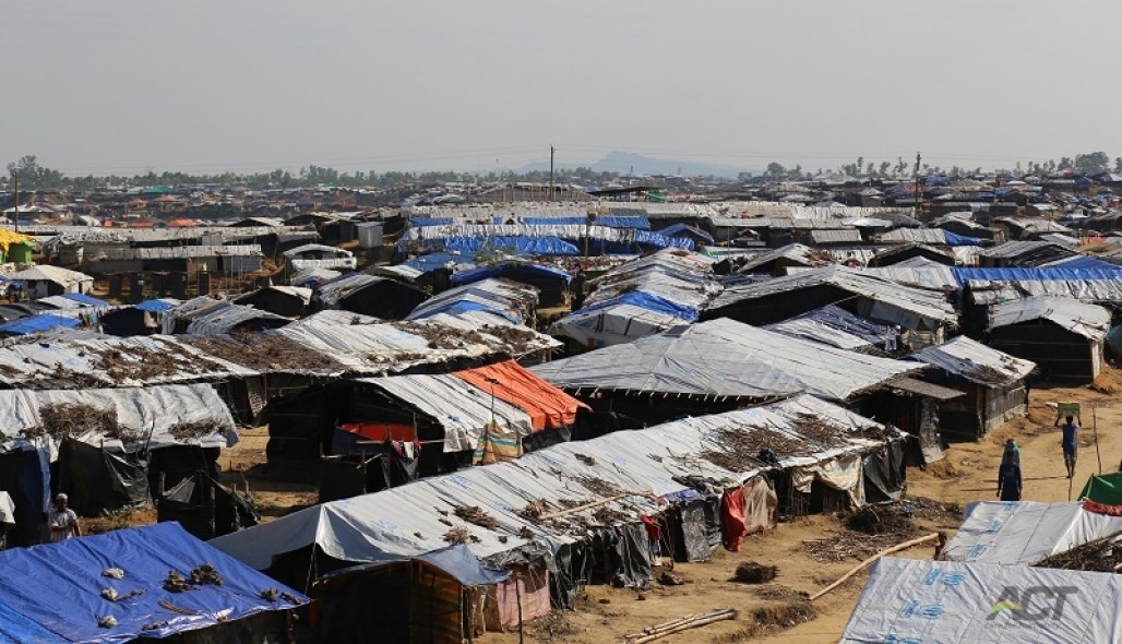 Rohingya Refugees Yearn for Comfortable Shelters