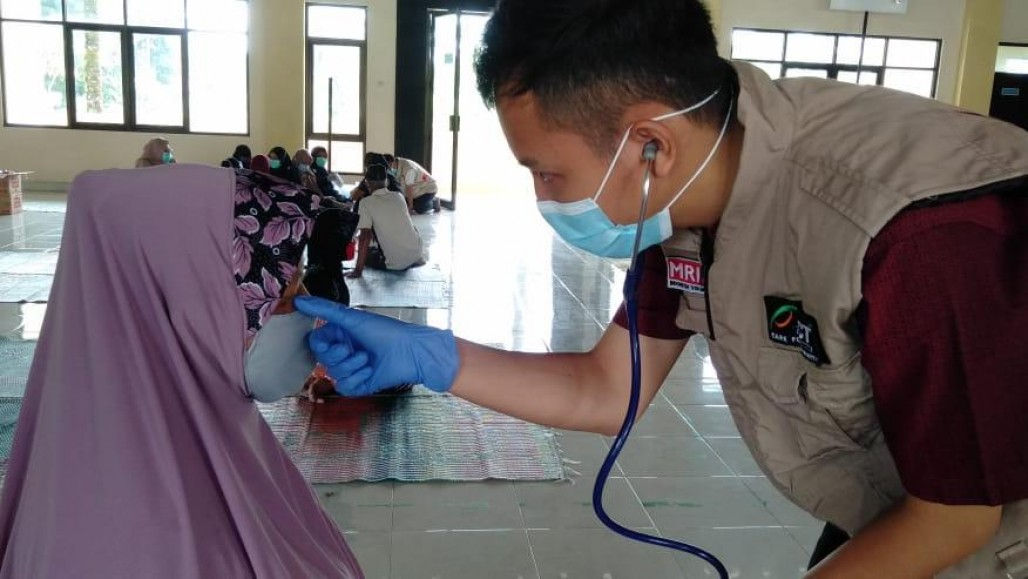 ACT Holds Free Clinic in Merapi Disaster Zone to Anticipate Eruption