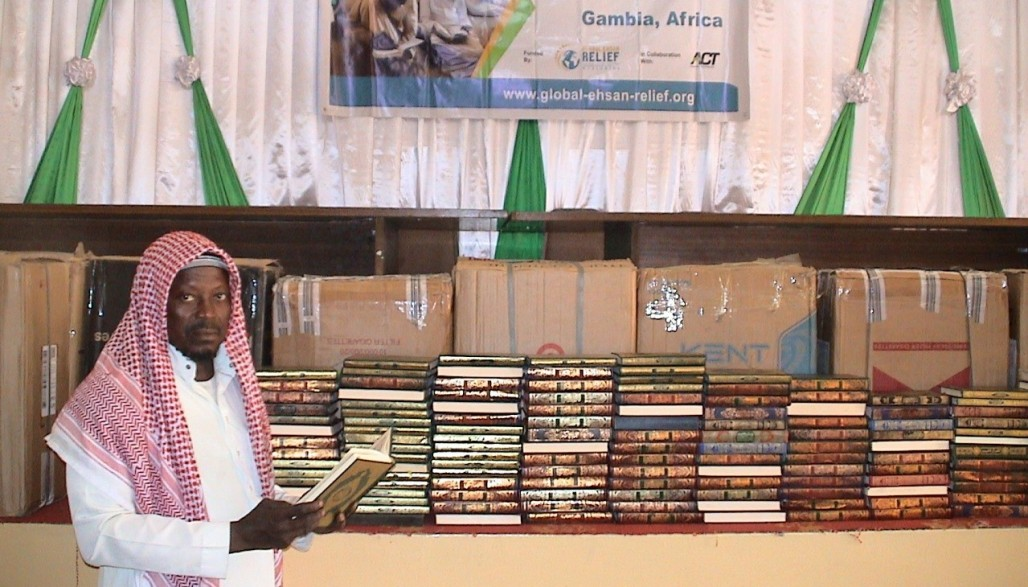 Quran Waqf from Indonesian Benefactors for Quran Students in Gambia' photo