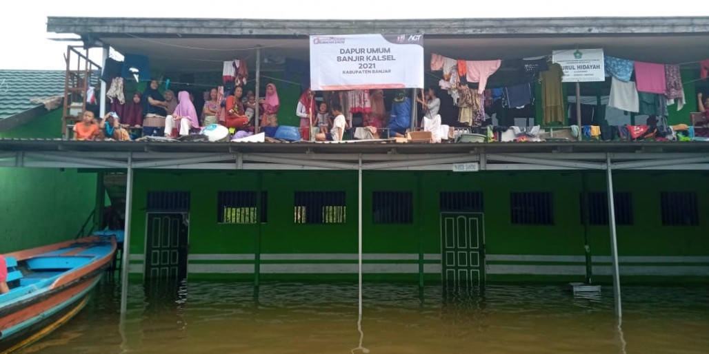 Over 120,000 Affected by Flooding in Banjar Regency photo