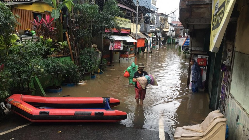 Greater Jakarta Flooded After Heavy Rains