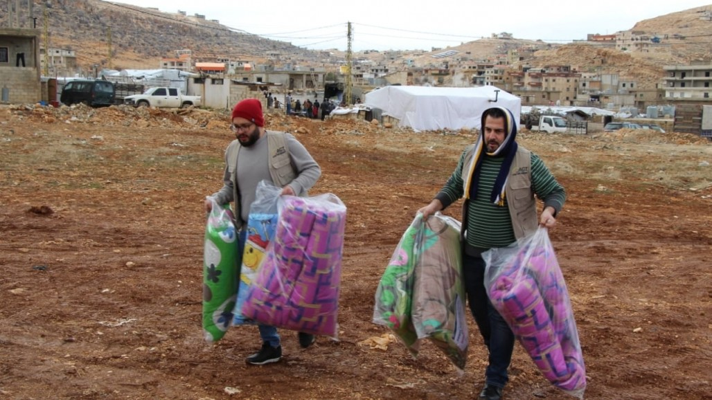 Syrian Refugees Live in Hunger and Cold in Beqaa Valley photo