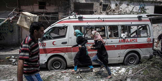 Ambulances in Gaza in Terrible Condition's image