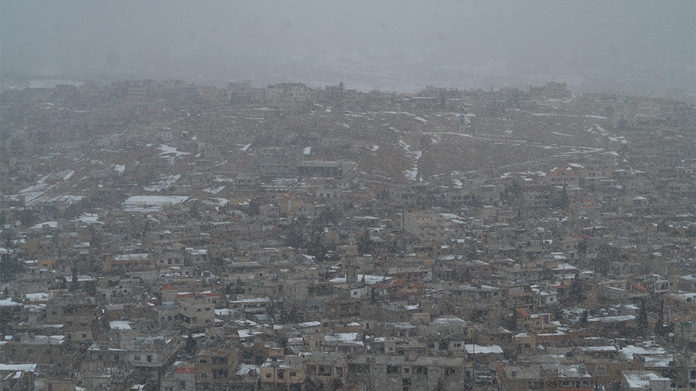 Refugees in Arsal Fight Against Harsh Winter's image