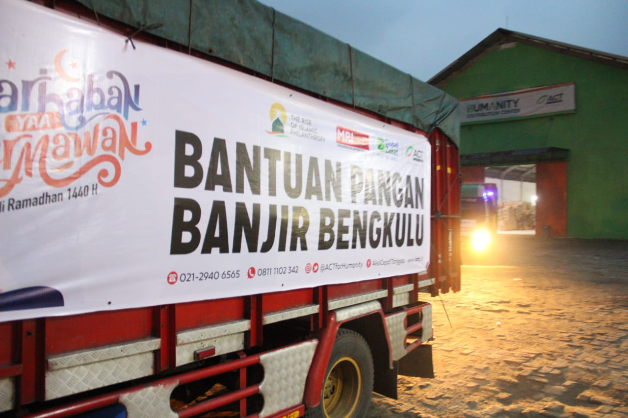 ACT Sends 60 Tons of Aid for Bengkulu Flood Victims's image