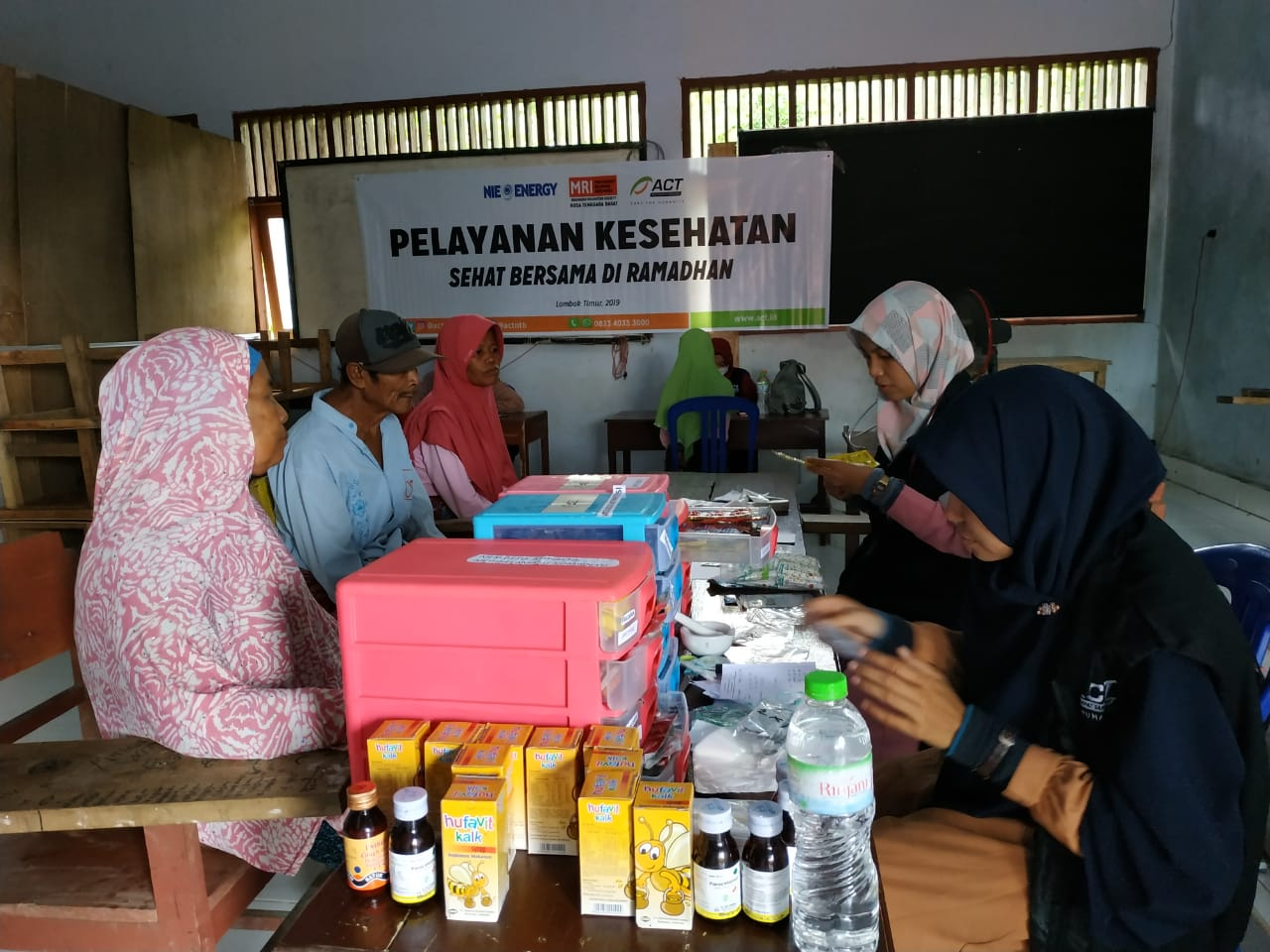 Free Healthcare to Maintain the Health of Lombok Residents Ahead of Ramadan's image