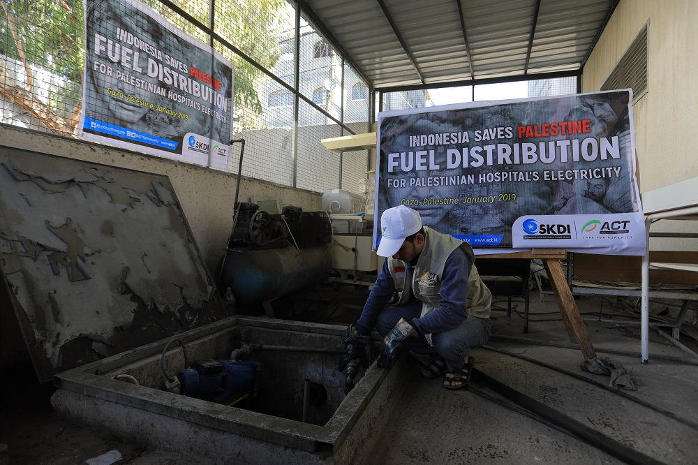 ACT's Fuel Aid Distributions to Support Palestinians' Needs's image