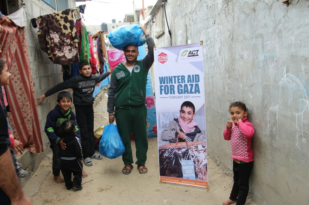 Support Continues to Comfort Gaza Late Winter's image