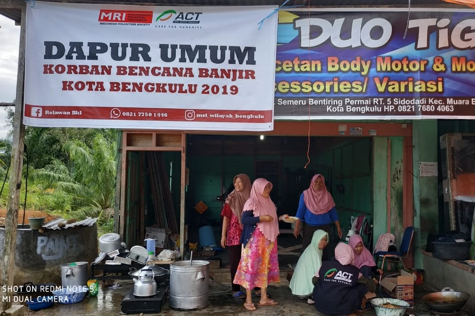 12,000 Displaced, ACT Set Up Five Humanitarian Posts for Bengkulu Flood Victims's image