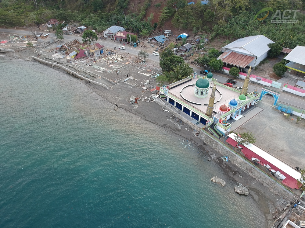 A House of God that Stands Still after Tsunami's image