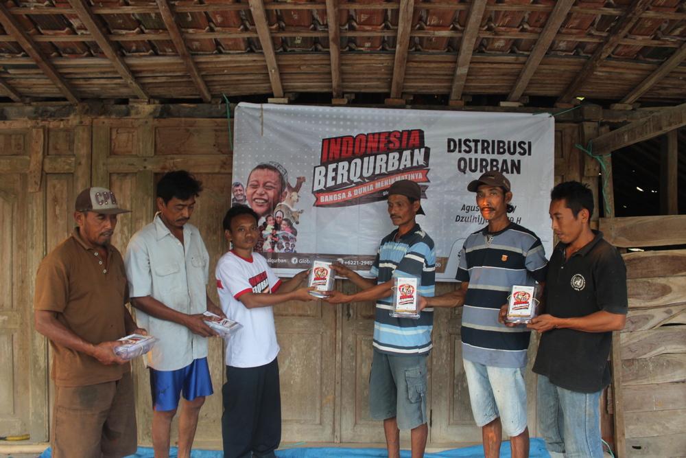 First Qurbani in Kemuning after Years of Absence