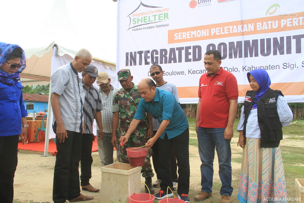 Sixth ICS Compound for Central Sulawesi Disaster Victims Constructed in Sigi's image
