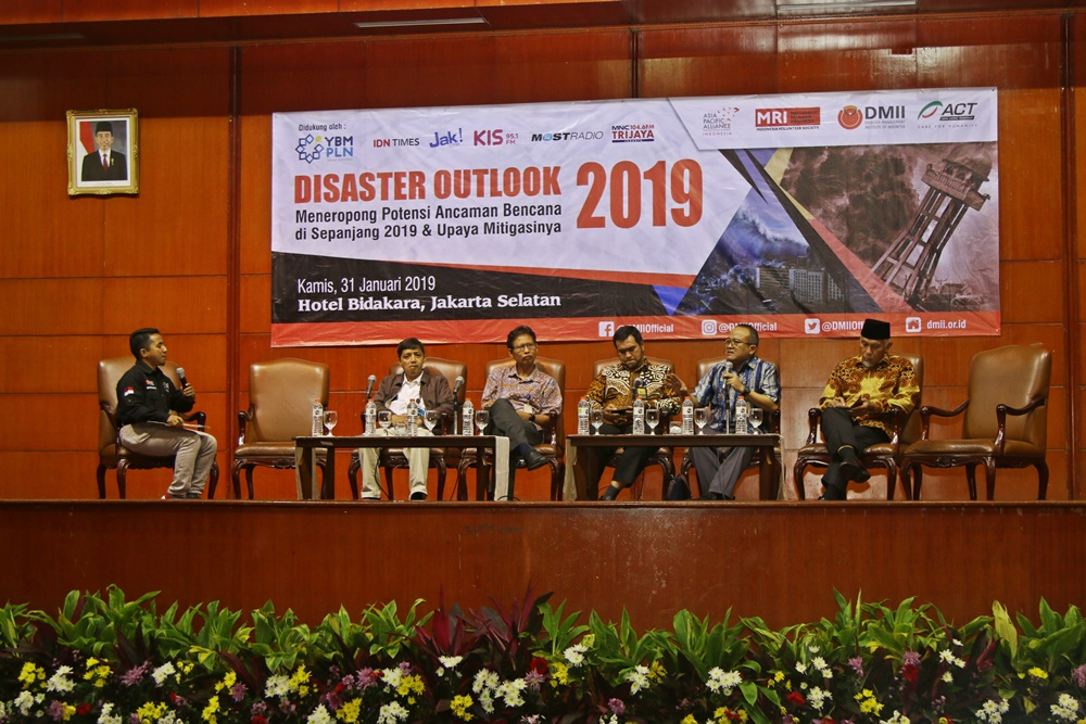 DMII dan ACT Menggelar Disaster Outlook 2019's image
