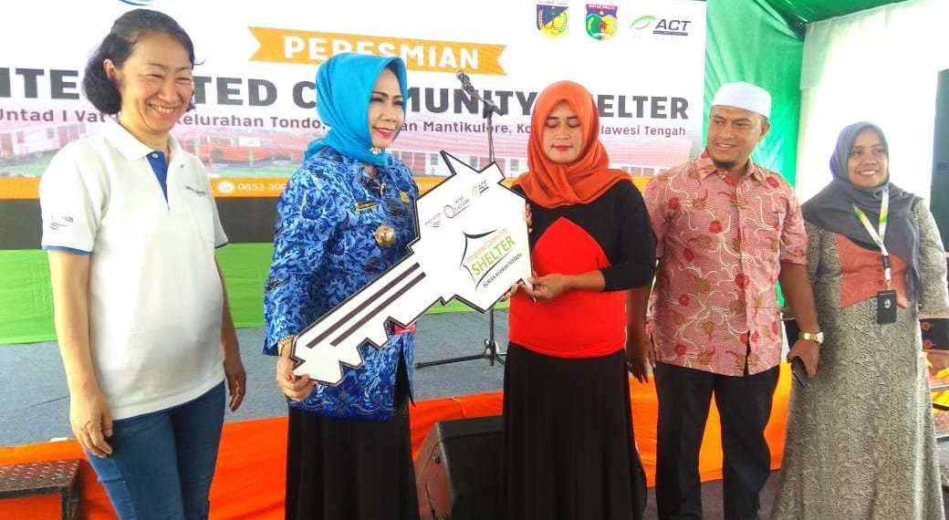 ACT and PWJ Provide 160 Shelters for Palu Residents' photo